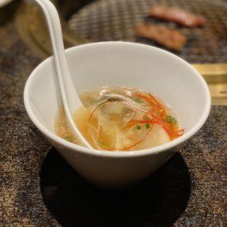 名物 徳川苑テールスープ(焼肉 徳川苑)