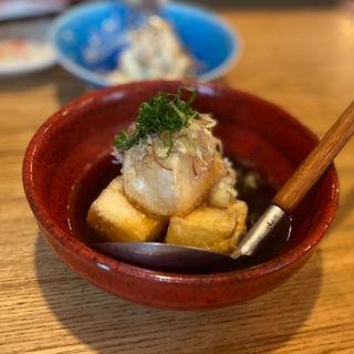 大葉と茗荷の揚げ出し豆腐(にぎりの一歩 )