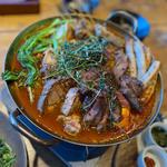肉のブイヤベース鍋