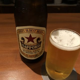 ビール(食堂 やすきち)