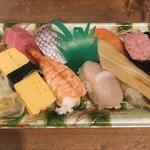 寿司盛り テイクアウト