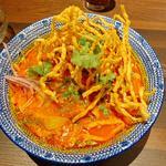 カオソーイ(チキン)(THAIFOOD DINING マイペンライ 名駅店)