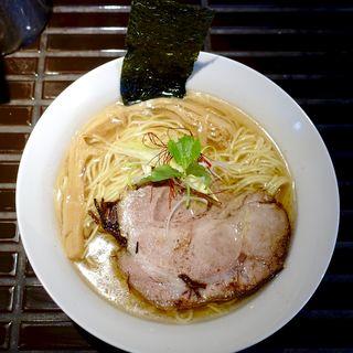 ちょろ らぁ麺 塩(貝と地鶏だしのらぁ麺 ちょろ)