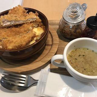 焼きチキンカツカレー(カフェ マル (Cafe Maru))