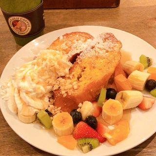 フルーツパンケーキ(ホノルルコーヒー 麻布十番店 )