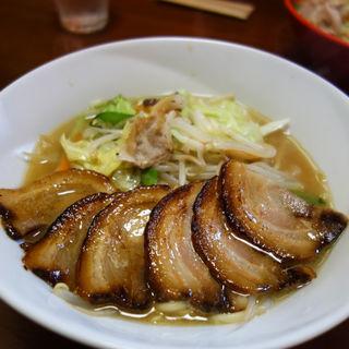 炙り焼豚ちゃんぽん(博多ちゃんぽん えいと)