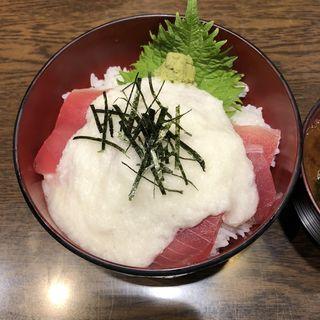 マグロ山かけ丼(豪快 立ち寿司 本町店 )