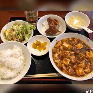 麻婆豆腐定食(中華料理 如月 本町店)