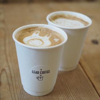 カフェラテ(リード コーヒー (LEAD COFFEE))