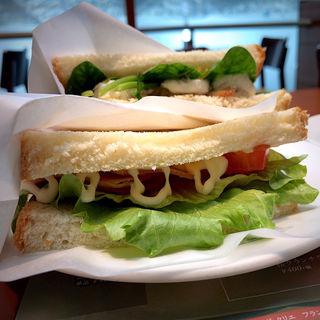 宮崎日南どりのハーブチキンとハムチーズ ドリンクセット