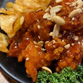 オリジナルソース フライドチキン(鶏肉研究所)
