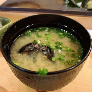 味噌汁(寿司芳 (すしよし))