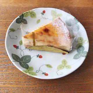 ベイクドチーズケーキ(お菓子の家サンタムール)