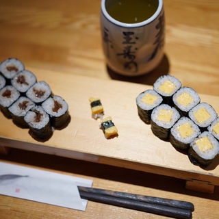 玉子巻(細巻1本)(築地玉寿司 池袋サンシャイン店 )