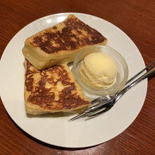 フレンチトーストセット(CAFE AALIYA)