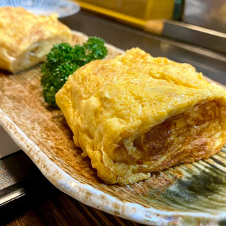 厚焼き玉子(田舎茶屋)