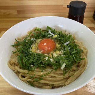 釜玉桐麺+とろろ(桐麺 )