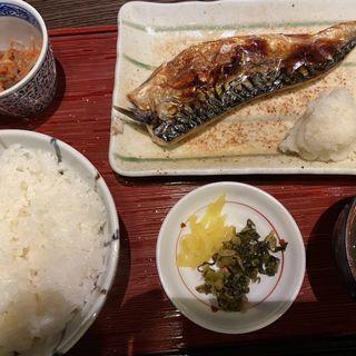 トロサバ塩焼定食(御苑 炉庵 )
