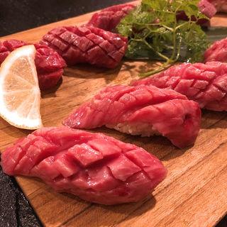 肉寿司盛り合わせ(肉バル KACCHAN (ニクバル カッチャン))