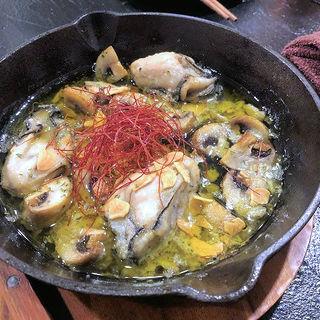 牡蠣のアヒージョ(肉バル KACCHAN (ニクバル カッチャン))