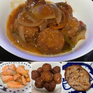 肉団子の甘酢あん(自宅)