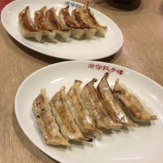 焼餃子(ニラにんにく入り)(原宿餃子樓 グランツリー武蔵小杉店 )
