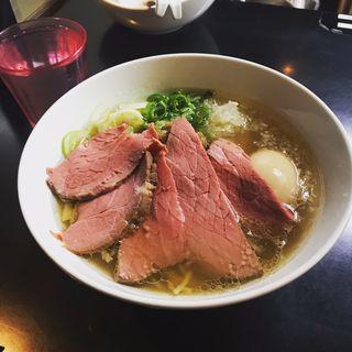 贅沢焼牛塩らぁ麺(牛骨らぁ麺マタドール 本店 )