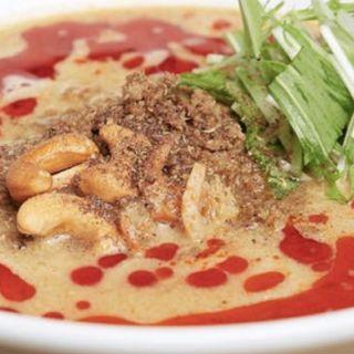 汁あり担担麺(すごくシビれる)(175°DENO 担担麺 札幌南口店)
