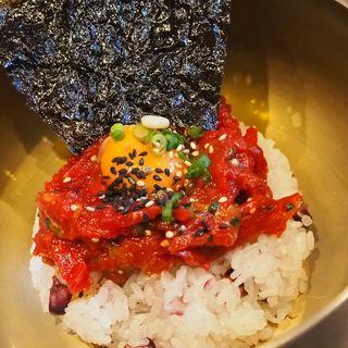 炙りユッケビビンパ(New Korean HASUO)
