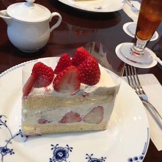 苺のショートケーキ(椿屋カフェ 表参道店 )