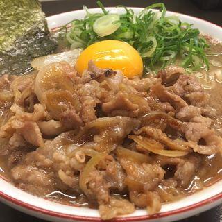スタミナ豚骨醤油(博多とんこつ かたぶつ)