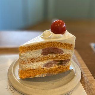 トマトのショートケーキ