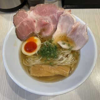 中華そば(人生夢路 徳麺 )
