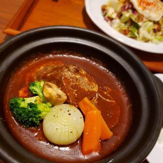 牛タンシチューセット(パーラー大箸(純洋食とスイーツ パーラー大箸))