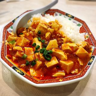 麻婆丼(ミニ)(中華食堂 一番館 渋谷桜丘町店)