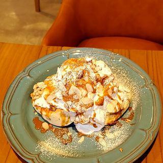 キャラメルナッツパンケーキ(ESPRESSO D WORKS)
