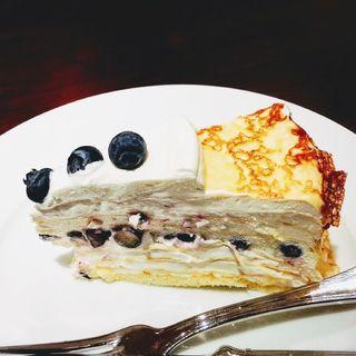 クリームチーズのミルクレープ(ハーブス ルミネ池袋店 (HARBS))