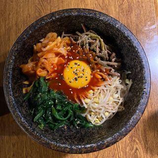 石焼きビビンバ(韓国食堂 トォンデジ 渋谷店)