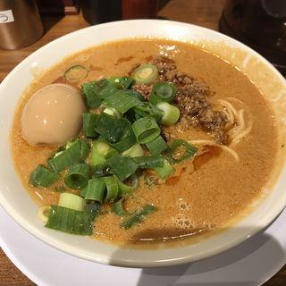 濃厚味噌坦々麺(濃厚中華そば よし田)