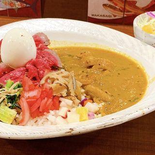 ローストビーフカレー(限定メニュー)(昼飯屋)
