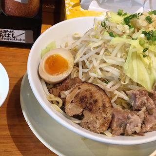 ガッツリまぜそば (限定)(千極煮干 (センゴクニボシ))