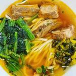 牛肉麺セット(牛肉麺)(台湾甜商店 阪急三番街店)