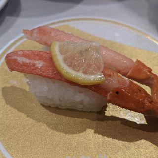 本ずわいがに食べ比べ(はま寿司 蒲田駅東区役所前本通店)