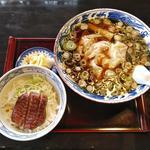 牛たんワンタン麺とミニ丼のセット