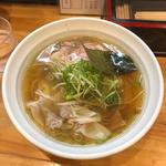 肉醤油雲呑(大阪麺哲 (メンテツ))
