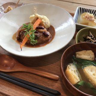 今月のお昼ご飯(Relish食堂)