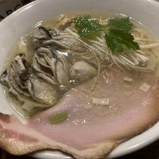 牡蠣そば(塩そば 九兵衛)