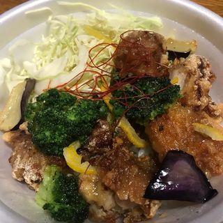 柚子胡椒ザンギ丼