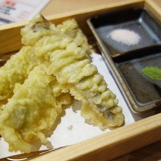 いわしの天ぷら(鮨 酒 肴 杉玉 西新店)