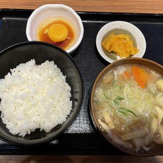 豚汁定食(とんかつ 銀座梅林 )